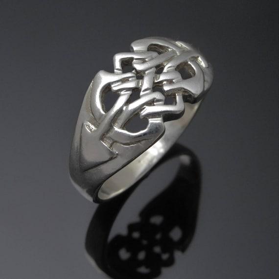 Celtic Cross ring 925 sterling silver 6us 7us 8us 9us 10us 11us 12us  unisex
