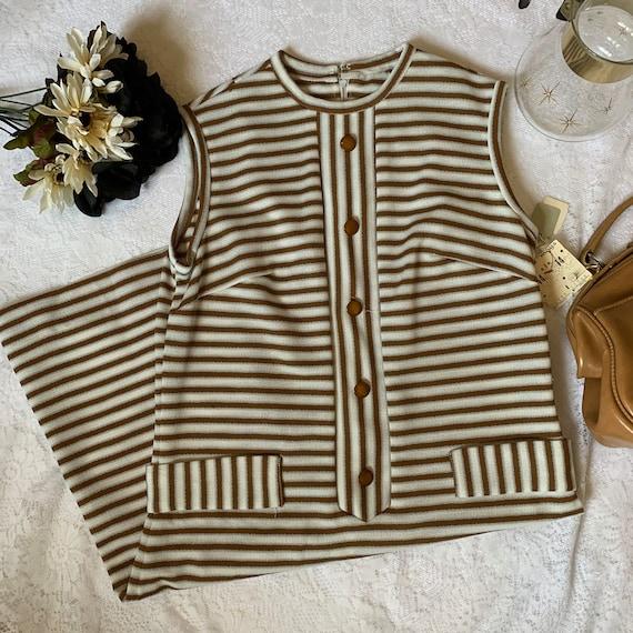 Deadstock NWT Mays MOD Striped Shift Dress