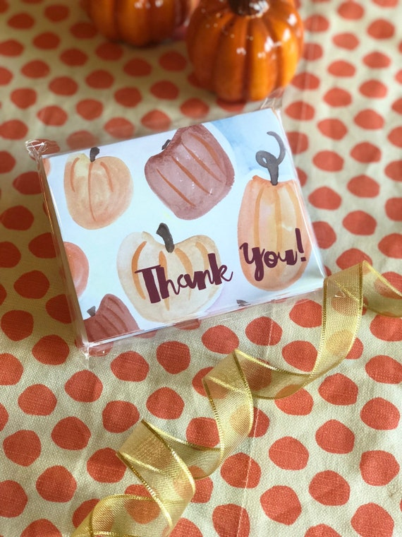 printed fall stationery pumpkin theme stationery gifts for etsy