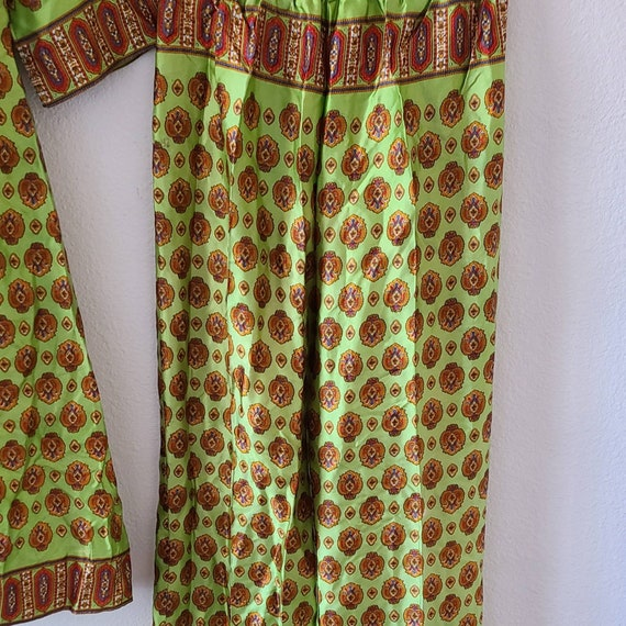 Vintage 50s 60s beach pajamas set summer two piec… - image 4