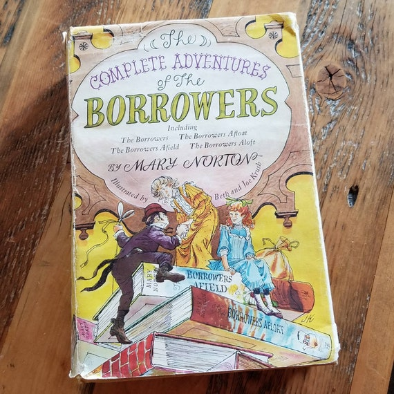 Rare The Complete Adventures Of The Borrowers First American Etsy