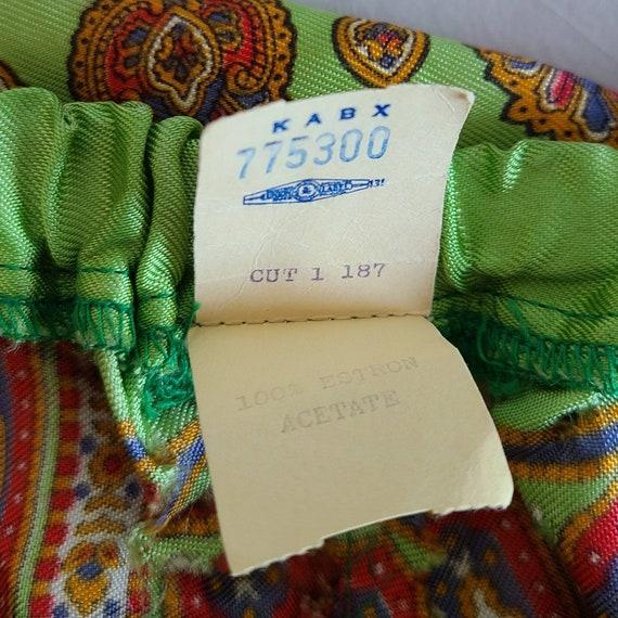 Vintage 50s 60s beach pajamas set summer two piec… - image 5