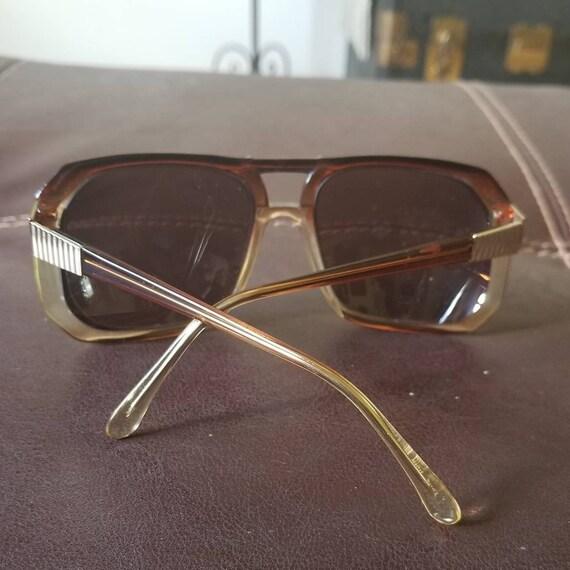 Vintage 70s oversize eyeglasses retro frames Tura