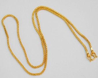 63dffb2317e Solid 23K Thai Baht Chain
