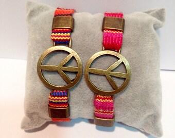 Bracelet Andean peace symbol