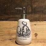 Kraken soap dispenser