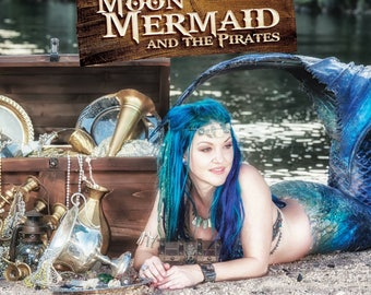 Moon Mermaid and the Pirates Children's Book