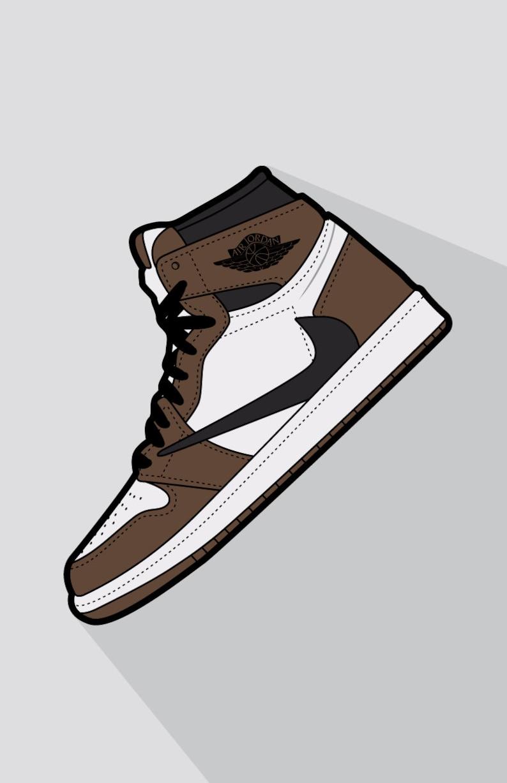 the latest 1d2c1 4973a Travis Scott x Air Jordan 1