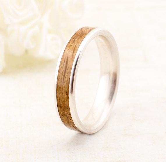 Holzring Bentwood Verlobungsring Trauring Ehering Holz Etsy