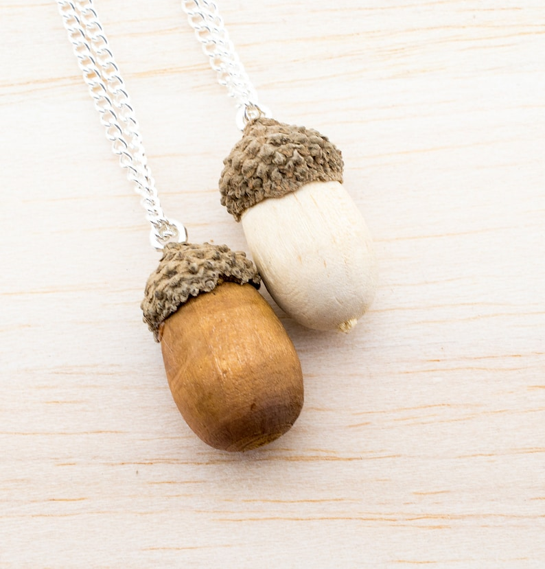 Real Acorn Necklace Autumn Necklace Gift for you Nature Acorn Necklace Acorn Necklace Autumnal Jewelry Echtschmuck
