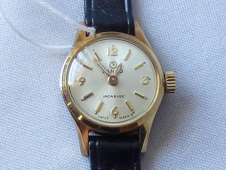 cb5c4aa2033 LANCO Vintage Swiss Watch Incabloc Ellegant Ladies Wristwatch