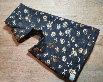 Blue Leopard   vest CatDog Clothes Hand made by Sphynx Clothes for small dogs and any breed of cats.