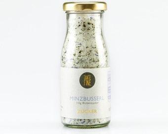 MINZBUSSERL flower sugar, sugar mixture, xylitol blend with flowers