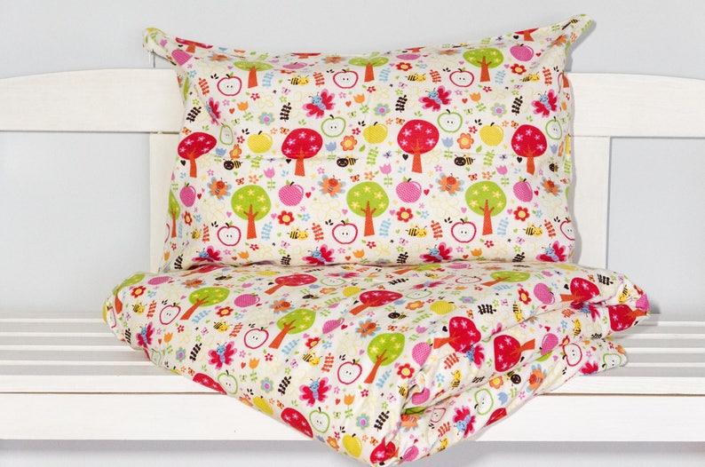Baum Flanell Babykleinkind Bettwäsche Bettbezug Und Etsy