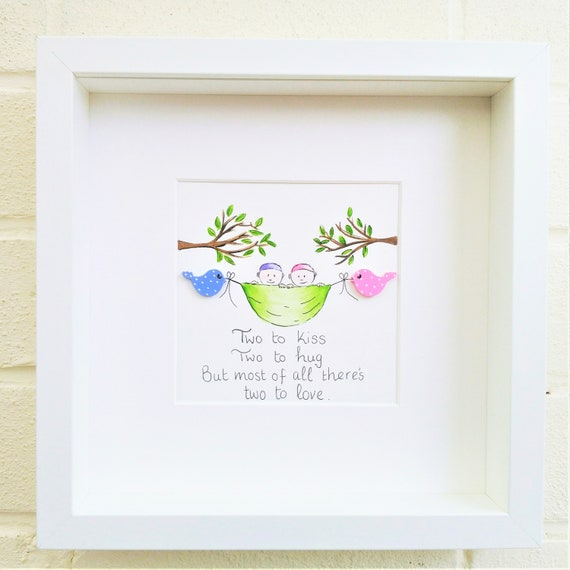 Personalised Triplets Twins Christening Day New Baby Birthday Gift Plaque Sign