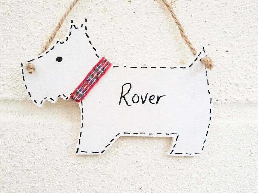 Westie Geschenke Hund-Dekor Haustiere Dekor personalisierte | Etsy