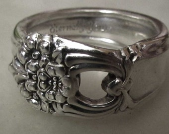 Spoon Ring. 'Eternally Yours' Rogers Brothers silver spoon ring. Custom Sizing Available. Express your Love with timeless spoon rings.