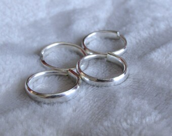 Fork ring set. Fork tine rings. Fork Ring Set. 4 Silver fork tine rings. Wear together or seperate. Share with your BFF. Midi rings.