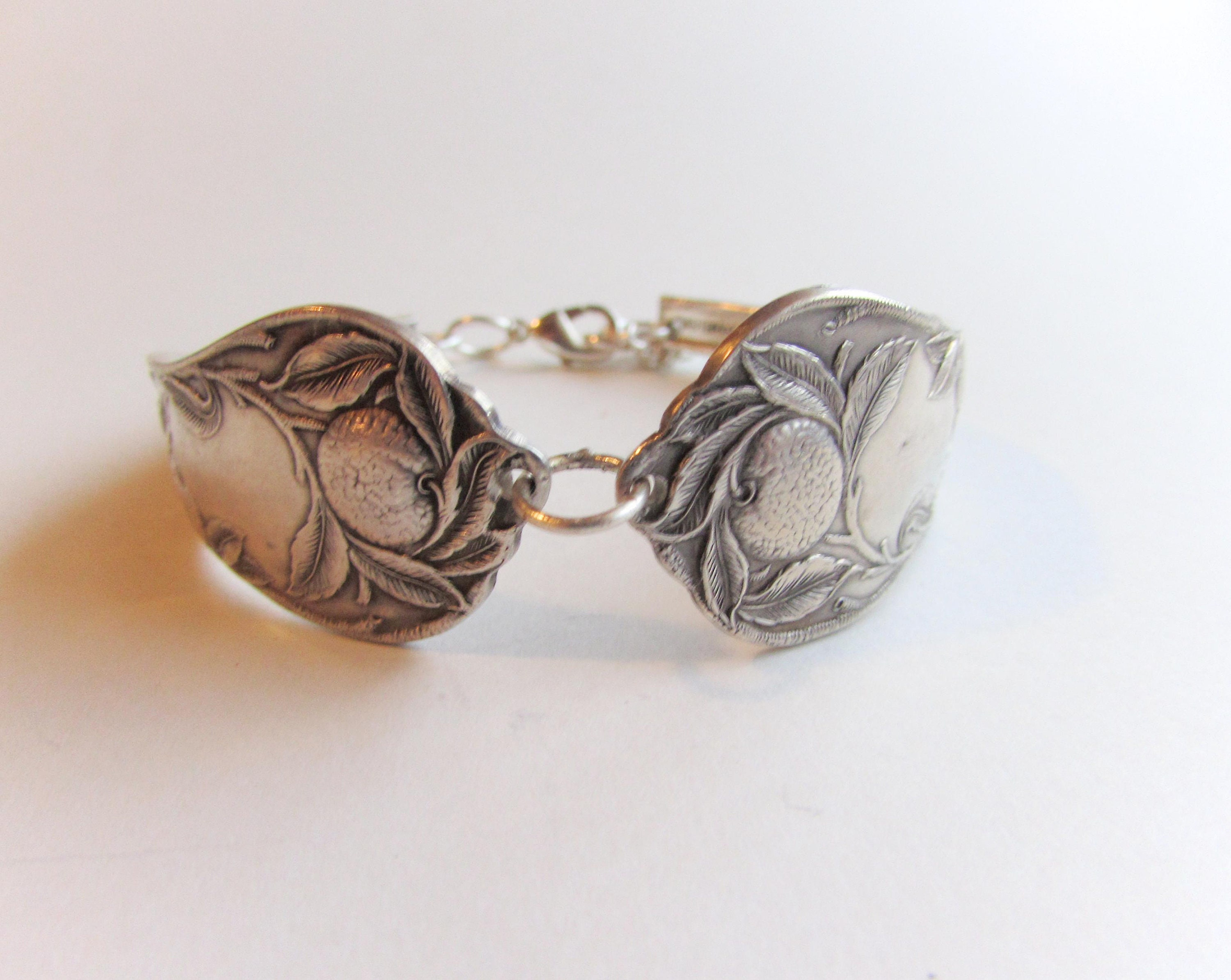 1910 Silver-filled spoon bracelet