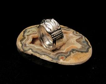 Spoon Ring. 'Danish Princess' ring. Best Friends rings, Couples rings. Sister rings. Promise rings. Tulip flower spoon ring.