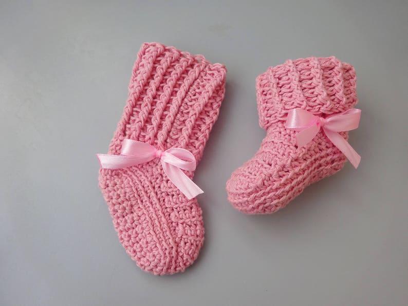 7233428744b8b Baby socks crochet socks baby booties baby accessories | Etsy