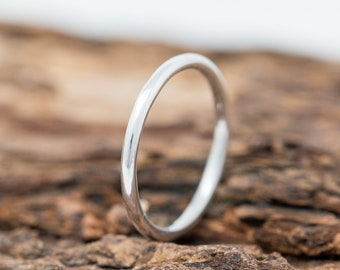 SOLID 9ct White Gold Ring|1.5MM Gold Wedding Ring|Gold Wedding Ring|Gold Wedding Band|Solid Gold Wedding Ring|Wedding Band|Unisex Ring