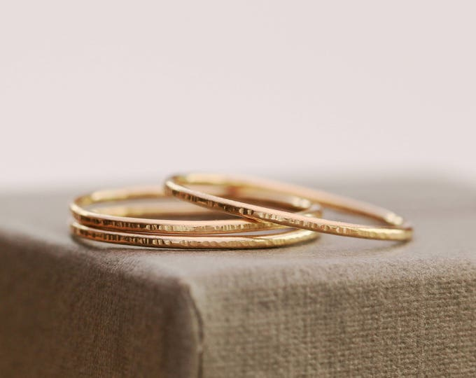 14K Gold Filled Ring|Gold Tree Bark Ring|Gold Filled Ring|Thin Gold Ring|Gold Ring|Minimalist Ring|Gold Minimalist Ring|Gold Stacking Ring