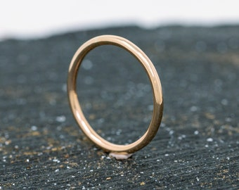 SOLID 14ct Yellow Gold Ring|1.5MM Gold Wedding Ring|Gold Wedding Ring|Gold Wedding Band|Solid Gold Wedding Ring|Wedding Band|Unisex Ring
