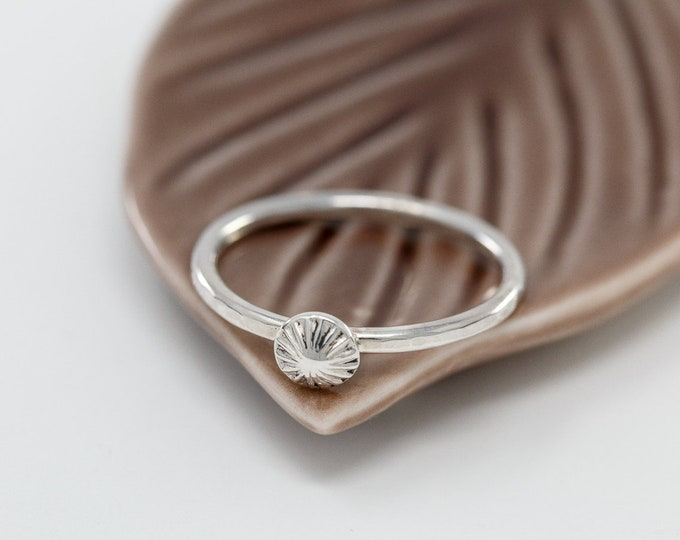 Sterling Silver Starfish Ring|Starfish Ring|Sea Urchin Ring|Silver Starfish Ring|Sea Urchin Ring|Nautical Ring|Summer Accessory|Gift for Her