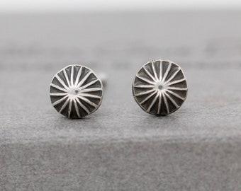 Sterling Silver Star Earrings|Wishing Star Stud Earrings|Star Studs|Silver Star Earrings|Sterling Silver Seashell Earrings|Unisex