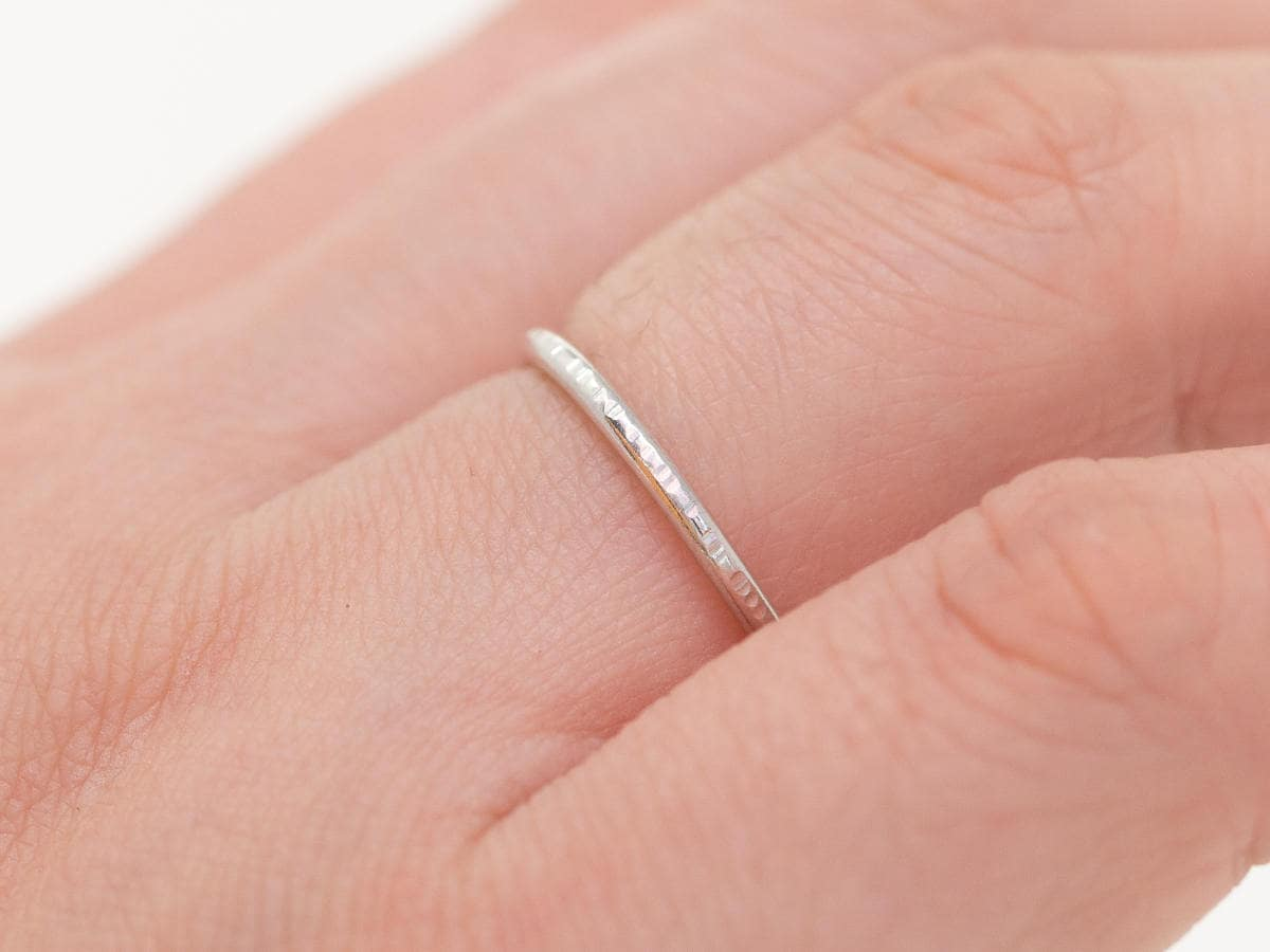 Sterling Silver Ring|Sterling Silver Tree Bark Ring|Silver Ring ...