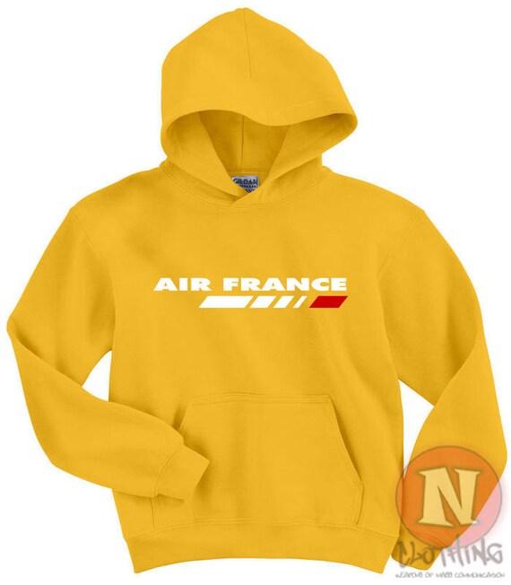 Air France capuche compagnie Hoodie à capuche France top aircraft avion spotting Français Francais 62661a