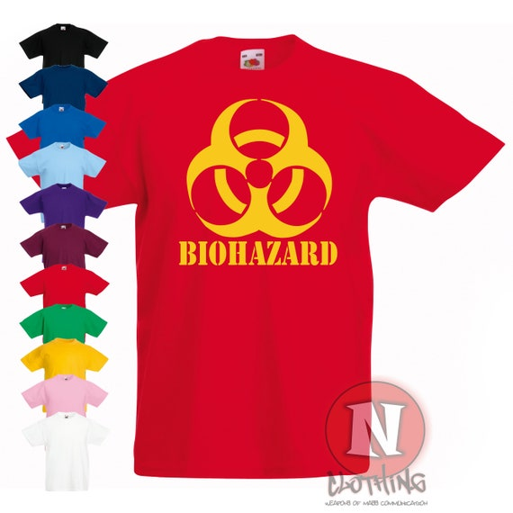 FREE DELIVERY KIDS ZOMBIE T-SHIRT 100/% COTTON TOP 7-8 12-13 YEARS 9-11