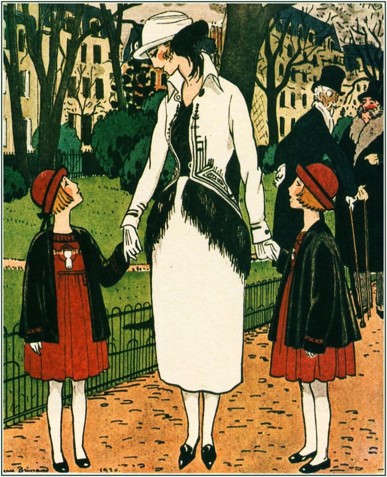 30e9afe578 Fashion illustration Pierre Brisaud for Gazette du Bon Ton in