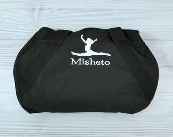 Personalized GYMNASTICS Duffel/Gym Bag. Gym bag, gymnastics bag, team gift, Gymnastics Gift, gymnastics coach, gymnastics team