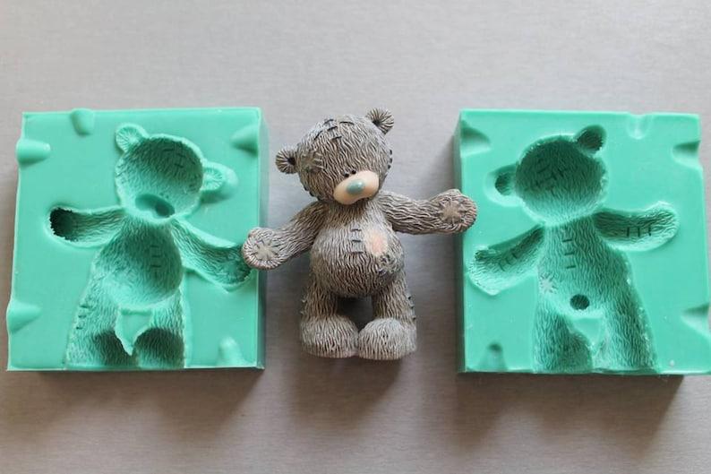 Silicone Mould 3D BEAR Sugarcraft Cake Decorating Fondant / image 1