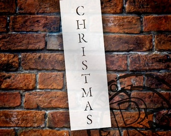 """Christmas Classic Vertical - 8"""" x 2""""-STCL211 by StudioR12"""