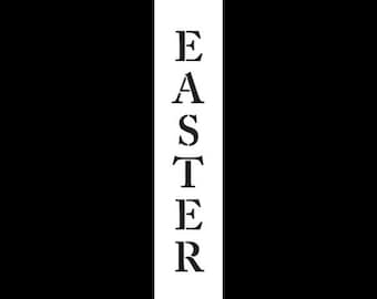 """Easter - Classic Vertical -  12"""" X 2.5"""" - STCL371 by StudioR12"""