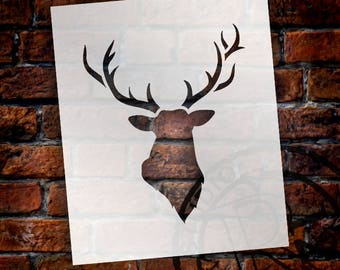 Big Buck - Art Stencil - Select Size - STCL1285 by StudioR12