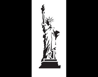 Statue of Liberty - Art Stencil - Select Size - STCL1119 - By StudioR12