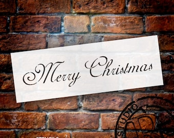 Merry Christmas - Elegant - Select Size - by StudioR12