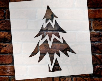 Oh Christmas Tree - Art Stencil - Select Size - STCL958 - by StudioR12