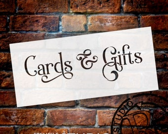 Wedding Sign Word - Cards & Gifts - Elegant Traditional - Select Size- STCL1743 - by StudioR12