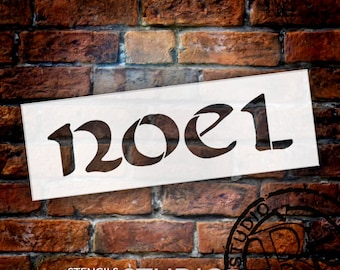 Noel Celtic Style - Christmas Stencil - Select Size - STCL1372 - by StudioR12