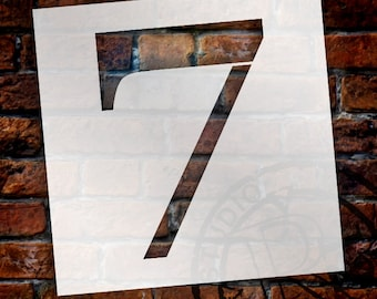 7 -Classic Serif Letter Stencil - Select Size - STCL1708 - by StudioR12