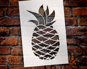Pineapple  - Art Stencil - Select Size - STCL2116 - by StudioR12