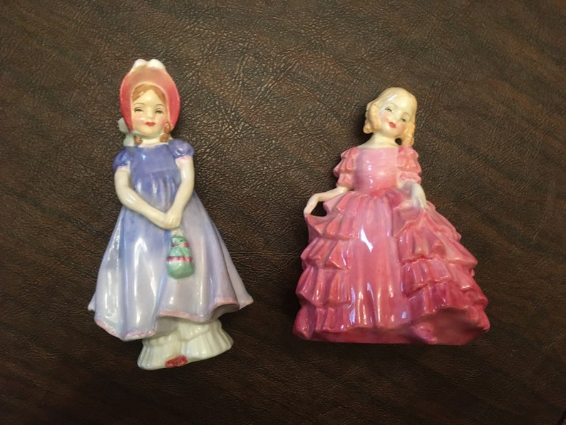 2 Early Marks HN1768 and Rose - Ivy Royal Doulton Figurines HN1368