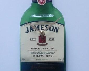 Jamesons whiskey bottle clock