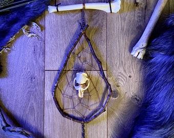 Muskrat & Coyote Bone Wall Hanger