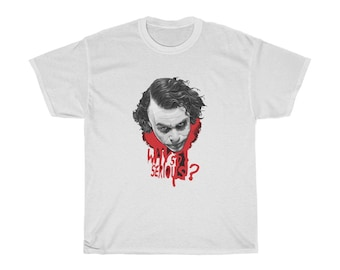 Why So Serious - Unisex Heavy Cotton Tee